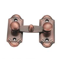China Antique copper Door Security Bolts sliding door latch Classic Furniture Hardware on sale