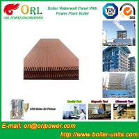 Quality Condensing Gas Boiler Water Walls For Petrochemical Biomass Diesel Boiler Industry wholesale