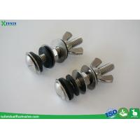 Quality Solid Inox / Stainless Steel Toilet Bolts To Connect Toilet Tank And Bowl wholesale