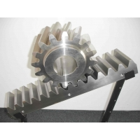 China M1.5 M2 M2.5 20x20x1000MM DIN Standard Spur Rack And Pinion on sale