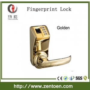 Quality indoor user fingerprint cabinet lock golden & silver biometric fingerprint door lock wholesale