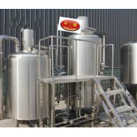 Quality beer brew and making equipment with  fermentation tank and  mash kettle wholesale