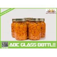 Quality Wholesale glass mason canning jar with screw lid wholesale