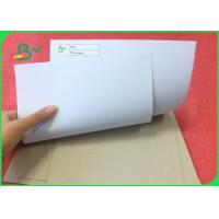 China 250g Mixed Pulp Coated Duplex Paper Board With Grey Back For Printing on sale