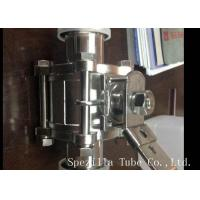 China ASME BPE Sanitary Stainless Steel Butterfly Valves Tri Clamp With ISO9001 Standard on sale