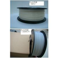Cheap 3D Printing Color Changing Filament High Performance , White To Blue for sale