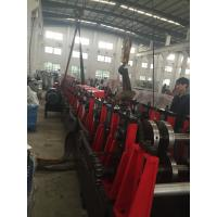 Quality 3MM Q195-235 C Purlin Roll Forming Machine With 18 Forming Roller Steel Construction Area wholesale
