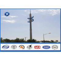 Quality Steel Conical Self Supporting Telecommunication Pole With Climbing Ladders wholesale