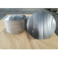 Quality Cookware Aluminum Sheet Circle Silver With Pre Painted Non - Stick Black Coating wholesale