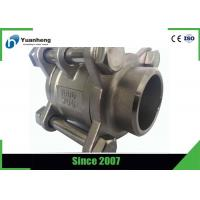Quality Butt Weld End 1000PSI 3PC Ball Valve Stainless Steel 316 Material wholesale