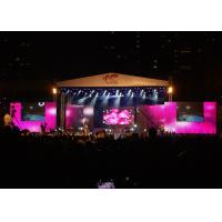Quality Waterproof Rental LED Displays , full color LED Stage Display for Music Concert wholesale