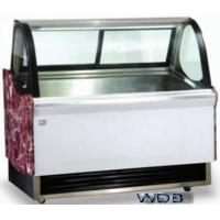 Quality 1200mm Ice Cream Showcase Freezer Tempered Glass With Transparent Conducting Films wholesale