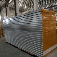 Quality insulated steel sheet phenolic sandwich panel 3710 x 1150 x 75mm for warehouse wholesale