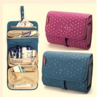 Quality Colorful Travel Travel Makeup Bag , Cosmetic Rolling  Travel Bags For Women wholesale