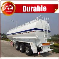 Buy cheap Hot sale 3 axles bulk oil tank semi trailer for sale from wholesalers