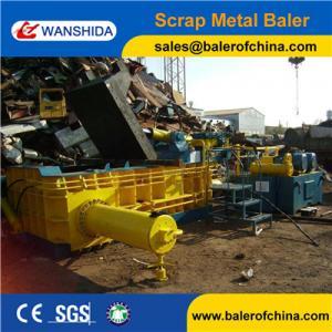 China WANSHIDA Heavy Duty Scrap Metal Baler Compactor for HMS 1 & 2 Scrap on sale