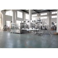 Quality Monoblock Soda Water Carbonated Drink Filling Machine 3 In 1 500ml Bottled wholesale
