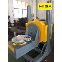 China 50T High Priceision Fixed Yellow CNC L-Type Welding Positioner With 0-360° Rotatain Angle on sale