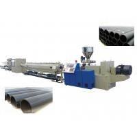 Quality Polyethylene PE Pipe Production Line / Extrusion Plastic Machine SJ90 / 33 , SJ30 / 25 wholesale