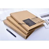 Quality Custom B5 A5 Pocket File Folders 2 Or 3 Ring Made By Hard Brown Kraft Paper wholesale