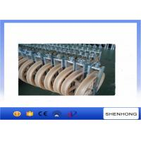 China Overhead Transmission Line OPGW Installation Tools Conductor Stringing Blocks φ660x100mm on sale