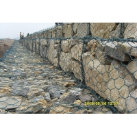 ASTM A975 Woven Type 5mm gabion baskets For Retaining Walls for sale