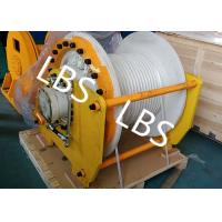 Quality Large Capacity Hydraulic Mooring Winch For Boat / Truck / Trailer / Bulldozer wholesale