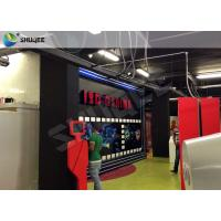 Quality Truck Mobile Cinema 5D Movie Theater Motion Cinema Theater System Special Effect wholesale