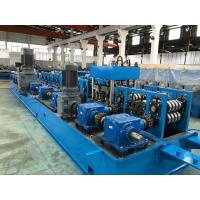 Quality 2.0 - 5.0mm Steel Purlin Roll Forming Machine with Gear Box Wire - electrode structure wholesale