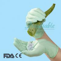China CE disposable latex free examination gloves on sale
