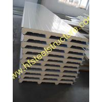 Quality Light Weight Construction Material Polyurethane Sandwich Panel For Cold Room wholesale