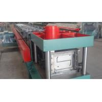 Cheap Width 100 - 300mm Z Type Purlin Cold Roll Forming Machine For Exhibition for sale