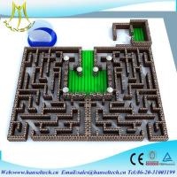China Hansel inflatable sports equipment obstacle sport game indoor and outdoor on sale