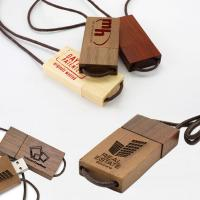 China Lanyard Eco-Friendly Wooden Thumb Drive, Wooden USB Pen Drive Lanyard USB on sale