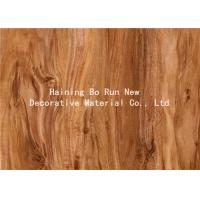 Quality Hot Stamping Realistic Wood Grain Film Customised Decorative Pattern wholesale