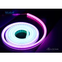 Quality RGB Led Rope Light Neon Tube RGB Flexible LED Strip Lights 5050RGB with IC embedded IP67 for outdoor wholesale