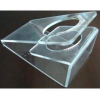 Quality Scratch resistance Acrylic Display Holders , 3mm Clear acrylic dryer holder wholesale