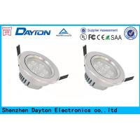 Quality White Color Full Alu SMD2835 Led Ceiling Downlights Recessed 7W wholesale