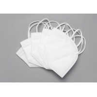 Quality Disposable Nonwoven 5 Layer KN95 Foldable Dust Mask wholesale