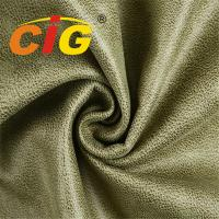 Buy cheap Material 100% Polyester Sofa Upholstery Fabric bonded with brushed fabric Printed Suede from wholesalers