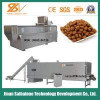 China Industrial Animal Feed Processing Machine Twin Screw 150-5000 Kg/h Capacity on sale