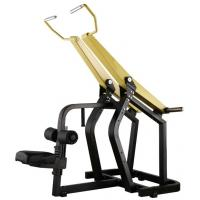 Professional Yellow Hammer Strength Plate Loaded Gym Equipment / Pull Down Machine 152kg