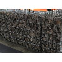 China Welded Galvanized Decorative Gabion Mesh Box for Landscape / Floor Protection on sale