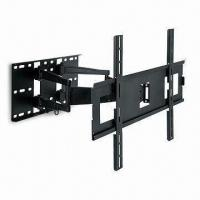 Quality TV Wall Mount with Swivel Double Arm and 2 Up and 9° Down Adjustable Tilt wholesale