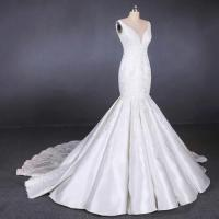 Cheap Straps satin mermaid wedding dresses bridal gowns customize made 2019 for sale