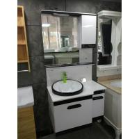 Cheap Marble Countertop Ceramic Bathroom Wall Vanity Cabinets Square Type 80 x 48 x 85 for sale
