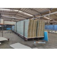 Quality Rockwool Steel Sandwich Panel Trade Assurance Non Flammable Easy Installation wholesale