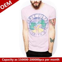 Buy cheap Custom 100% cotton T shirt with printing from wholesalers