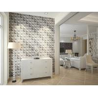 Cheap Colorful Graffiti Fiber 3D Wall Coverings Interior Wall Paneling 3D Tiles for for sale