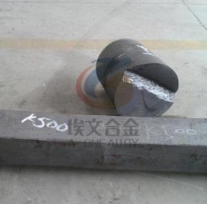 China UNS N05500 Monel K500 Round Bar , Precipitation Hardenable Copper Nickel Alloy on sale
